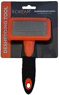 Scream 35-SG03584 LOR Slicker Brush, Loud Orange, Small
