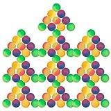 Schramm® 100 Stück Flummis Frost 27mm Flummi Springball Hüpfball Mitgebsel