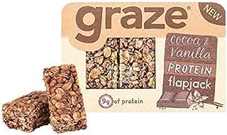 Graze Cocoa & Vanilla Protein Flapjack 53g
