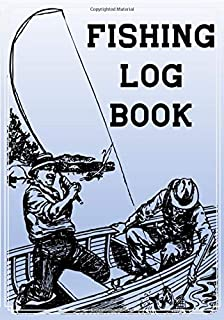 Fishing Log Book: Angler's Excursion Prompt Logbook Journal