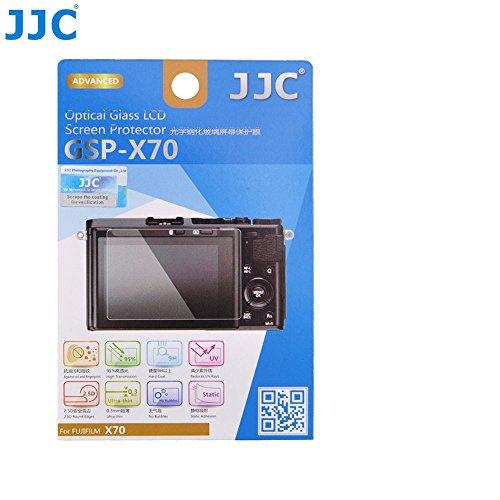 JW GSP-X70 2.5D Tempered Glass Screen Protector 9H Hardness Anti-Bubble Anti-scratch Anti-burst Ultra-thin High Transmittance For Fujifilm X70 Camera