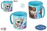 DISOK - Taza Frozen 350Ml - Tazas Frozen Frocen Baratas, Regalos para Niños Infantiles. Regalos de Cumpleaños,...