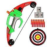 NextX Ensemble Arc et flèches pour Enfants avec cibles extérieures cibles Jeu de tir à l'arc