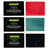 Georgetown Soaps - Naughty or Nice or a Lump of Coal- Soap for Men - Soap for Women - Handmade Bar Soap, Gift Set, Body Soap, 3 pack, 4.5 oz each