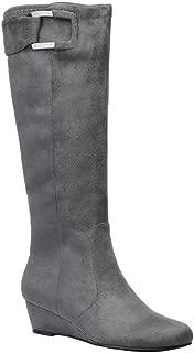 GUSTAVA Stretch Dress Wedge Boot