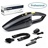 Rechargeable Pet Hair Vacuum Cleaners for Home and Car, Portable Cordless Vacuum Cleaner Strong...