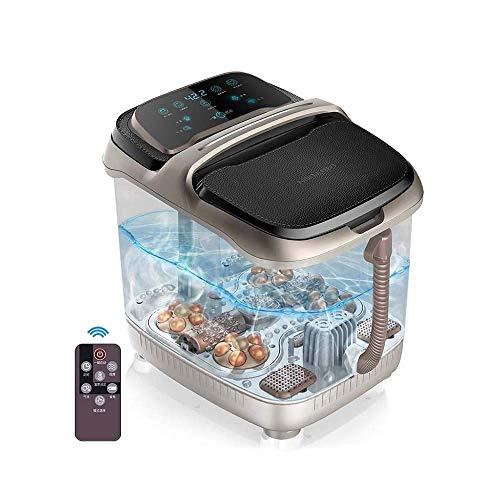 MKXF Masajeador de baño de SPA de pies eléctrico con masajeador de baño de SPA de pies de Calor