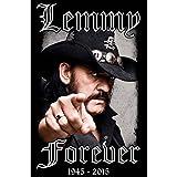 MOTÖRHEAD FLAGGE FAHNE LEMMY FOREVER 1945 - 2015 -
