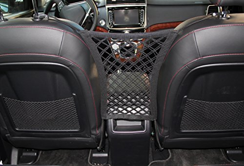 INNX Pet Barrier Safety Net Dog Barrier-OP102001 (2018 Popular Design) Universal for Cars, Jeeps, Trucks, Suvs, Vehicles, Dogs, Pets, Seatback, Front Seat, Heavy Duty and Portable, 11