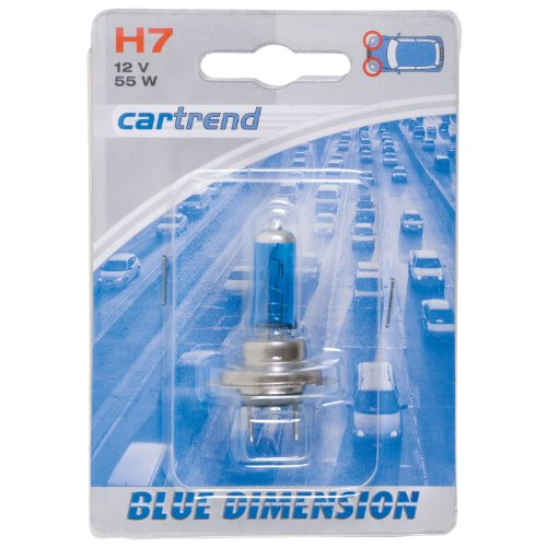 Cartrend 10111 Glühlampe, Blue Ray, H7