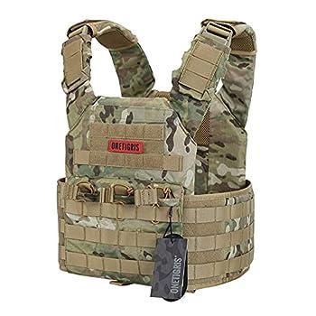 OneTigris Multicam Tactical Vest  Multicam