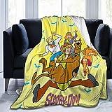 Wakaltk Scooby-Doo Throw Blanket Microfiber Lightweight Fluffy Cozy Blanket for...