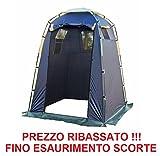 ALTIGASI Tenda CUCINOTTO CAMBUSA O Cabina Spiaggia Campeggio 150x150xh180/220 Peso 2,5 kg - Copertura Poliestere Struttura Fibra di Vetro