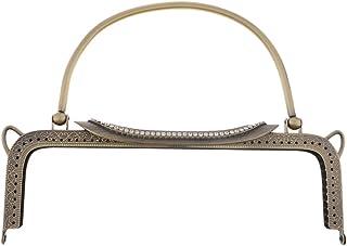Baoblaze Cadre de Sac /à Main en M/étal Bowknot Simple avec Strass Cr/éation de Coudre DIY Porte-Monnaie Portefeuille Accessoires de Bourse