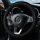Silicone Car Steering Wheel Cover, 15 inch...