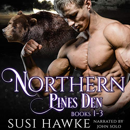 Northern Pines Den Alphas Books 1-3 cover art