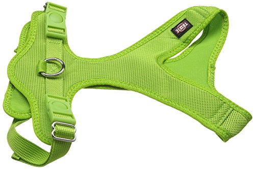 TRIXIE Soft Hundegeschirr, 35–60cm x 20mm, grün