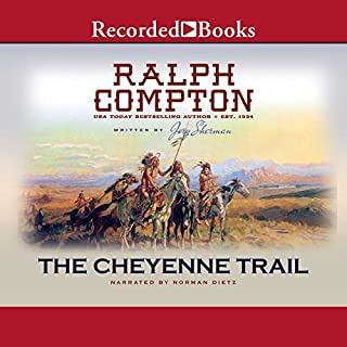 The Cheyenne Trail audiobook cover art