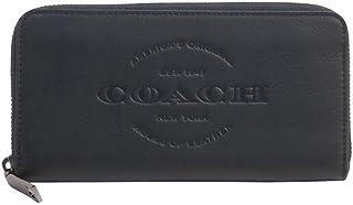 コーチ COACH 財布 長財布 メンズ アウトレット レザー カーフ ロゴモチーフ ラウンド F24648 BLK ブラック コーチ COACH メンズ