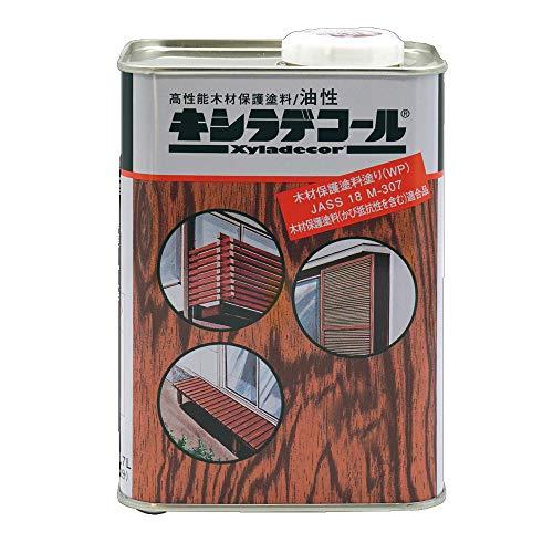 キシラデコール #104エボニ [0.7L] XYLADECOR 日本エンバイロケミカルズ 屋外木部 ログハウス ウッドデッキ [木材保護塗料]
