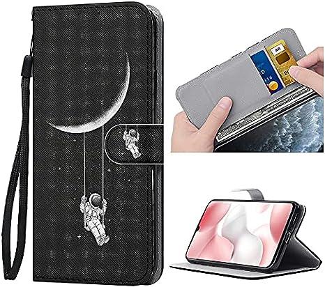 ZhuoFan Funda para Xiaomi Redmi Note 8 Pro Carcasa de Cuero PU con Tapa Case con Soporte/Ranura de Tarjeta Cubierta Premium Magnético Suporte TPU Protectora Fundas para Redmi Note8 Pro 6,53