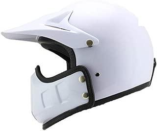 MOMAMO Casco Jet Moto Bluetooth,Unisex Casco Moto con Anti-Fog Doppia Visiera,Adulto Casco Cross off-Road con Microfono Incorporato per Risposta Automatica