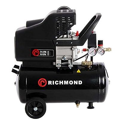 Foto di ParkerBrand Compressore d'Aria 24 Litri — 9,6 CFM, 2,5 HP, 24 L
