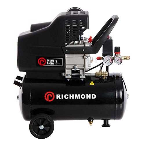 ParkerBrand 24 Litre Air Compressor - 9.6 CFM, 2.5 HP, 24L