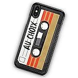 Coque Silicone Bumper Souple IPHONE 5/5s/SE - K7 Cassette rétro Vintage Radio-Cassette Personnalisable au Choix Swag Case TPU Design + Film de Protection Inclus
