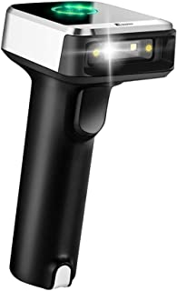Eyoyo Wired 2.4G Wireless Barcode Scanner, Portable Handheld CCD Barcode Reader for POS, iPad, iPhone, Android Phones, Tab...