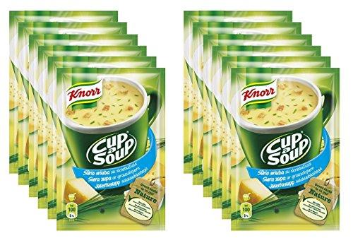 Knorr Lecker Augenblick Käse Suppe in einer Tasse [Packung von 12]