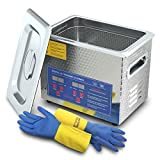 Digital Ultrasonic Cleaner 3L for Cleaning Carbs Jewelry Injectors Bullets Guns and Brass 200W Heated Professional Ultrasonic Cleaning Machine 2021 Upgrade