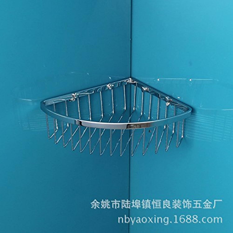 Bathroom corner shelves bathroom shelves stainless steel corner Wire basket rack 21021065mm