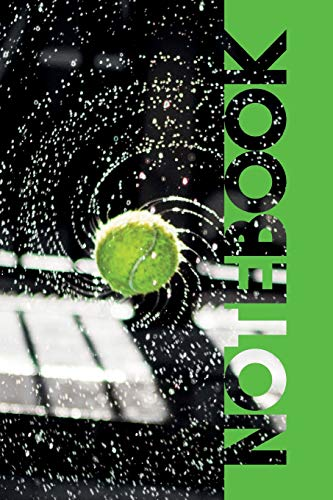Notebook: Tennis Ball Machine Pretty Composition Book for Club Players