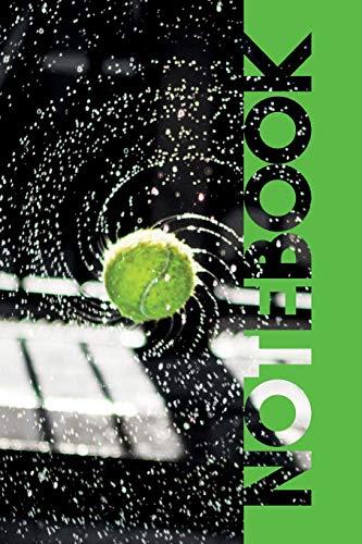 Notebook: Tennis Ball Machine Pretty Composition...