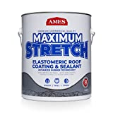 AMES MSS1 1 Gallon Maximum Stretch Roof Coating, White