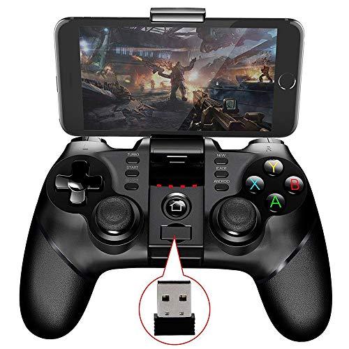 AFF Mobiler Gamecontroller, drahtloses Bluetooth-Gamepad Joystick Multimedia-Game Controller Kompatibel mit iOS Android iPad Anderes Telefon Windows PC Perfekt für meisten Spiele