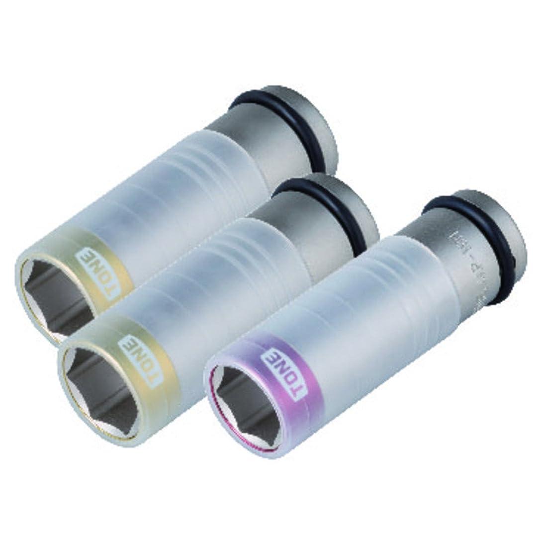 やろうソート代数トネ(TONE) プロテクター付インパクト用薄形ホイルナットソケット HAP430 差込角12.7mm(1/2