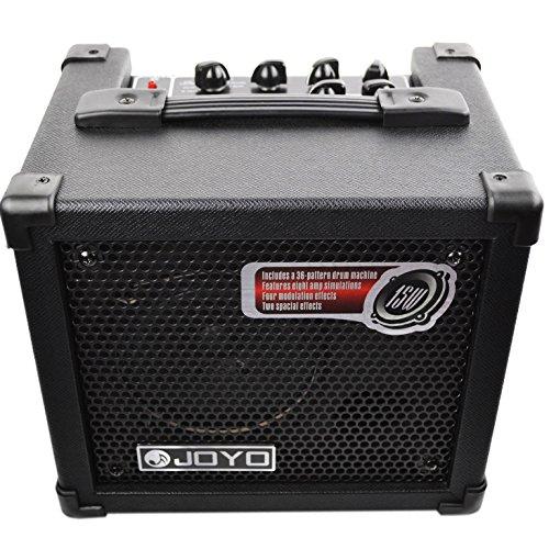 JOYO DC-15 15W Digital Guitar Amplifier with Amp Delay Reverb Chorus Tremolo Phaser Flanger Effect