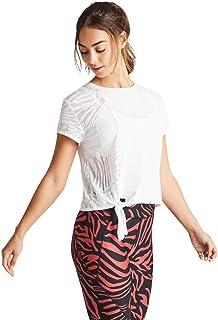Rockwear Activewear Women's Serengeti Zebra Burnout Tee from Size 4-18 for T-Shirt Tops