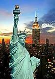 Selbstklebender Sticker, Poster New York / Freiheitsstatue,