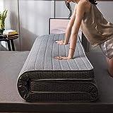 LUGEUK Matelas de Plancher de 9 cm d'épaisseur Pliable futon Japonais Tatami Mat Sommeil Tapis antidérapant Double futon Mat dortoir Mat (Color : B, Size : 120x190cm)