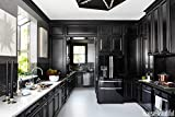Vintage Black Wall Cabinets