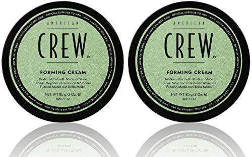 2er American Crew Forming Cream Mittlerer Halt Natürlicher Glanz 85 g
