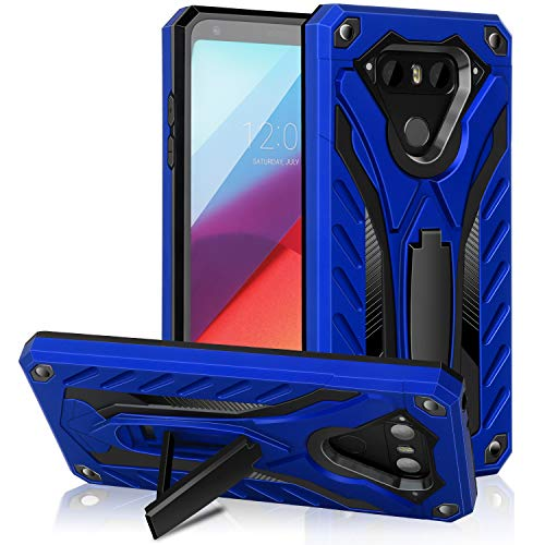 AFARER LG V20 case,Military Grade 12ft Drop Tested Protective Case with Kickstand,Military Armor Dual Layer Protective Cover Compatible with LG V20 5.7 inch Blue