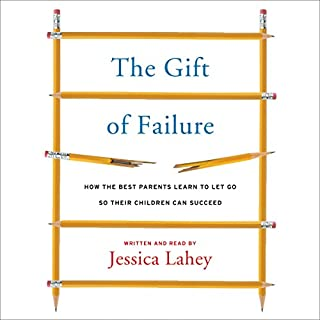 The Gift of Failure audiobook cover art