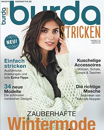 Burda stricken Strickmagazin 2019#01 Strickmuster ideal für Anfänger und Profis