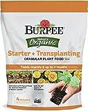 Burpee Organic Starter and Transplanting Granular Plant Food, 4 lb