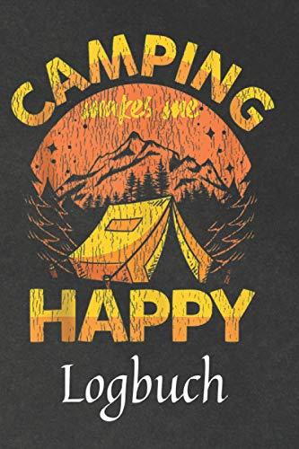 Camping Logbuch: Das einzigartige Logbuch für die schönsten Tage im Jahr. Wie ein Tagebuch begleitet Sie das Logbuch auf Ihrer Reise mit dem Van. A5 Format. Notizbuch, Logbuch, Tagebuch
