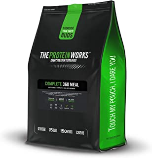 THE PROTEIN WORKS | Vegan Complete 360 Meal | Nutritionally Balanced | 100% Vegan | Quick & Affordable Meal | Vanilla Crèm...
